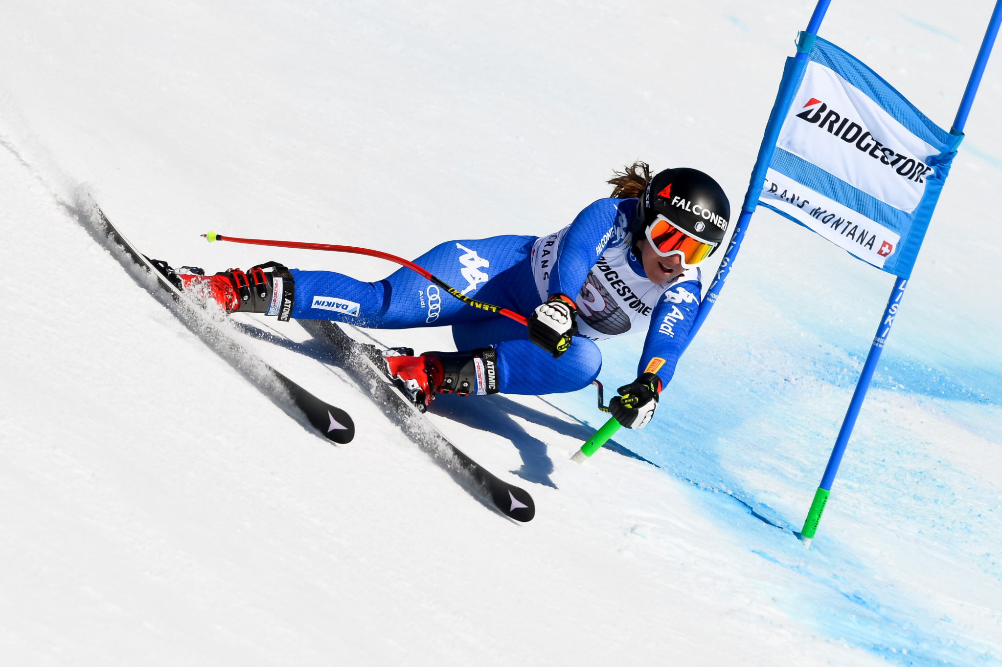 Olympic downhill champion set to miss start of new season after breaking ankle in training