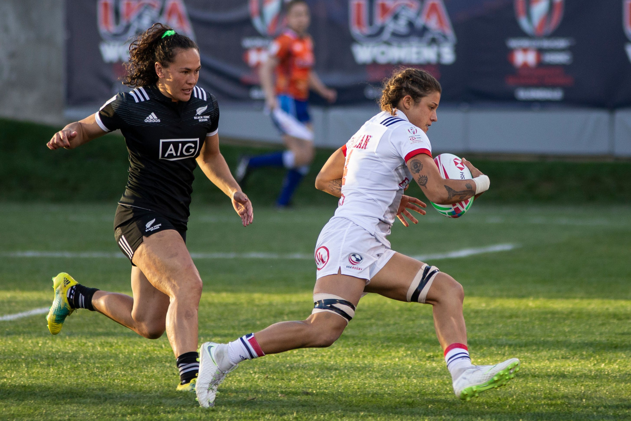 New Zealand beat the United States 33-7 to win the World Rugby Women's Sevens Series in Denver ©Getty Images