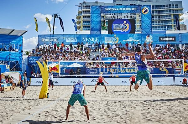 Dalhausser and Lucena light up home crowd to move one win away from FIVB World Tour Finals title