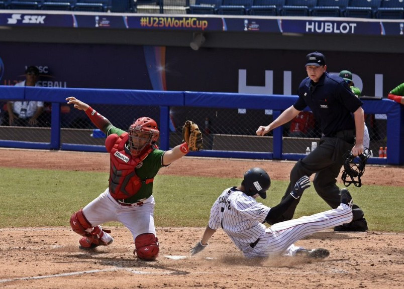 Defending champions Japan win again at WBSC Under-23 Baseball World Cup as rain hits event