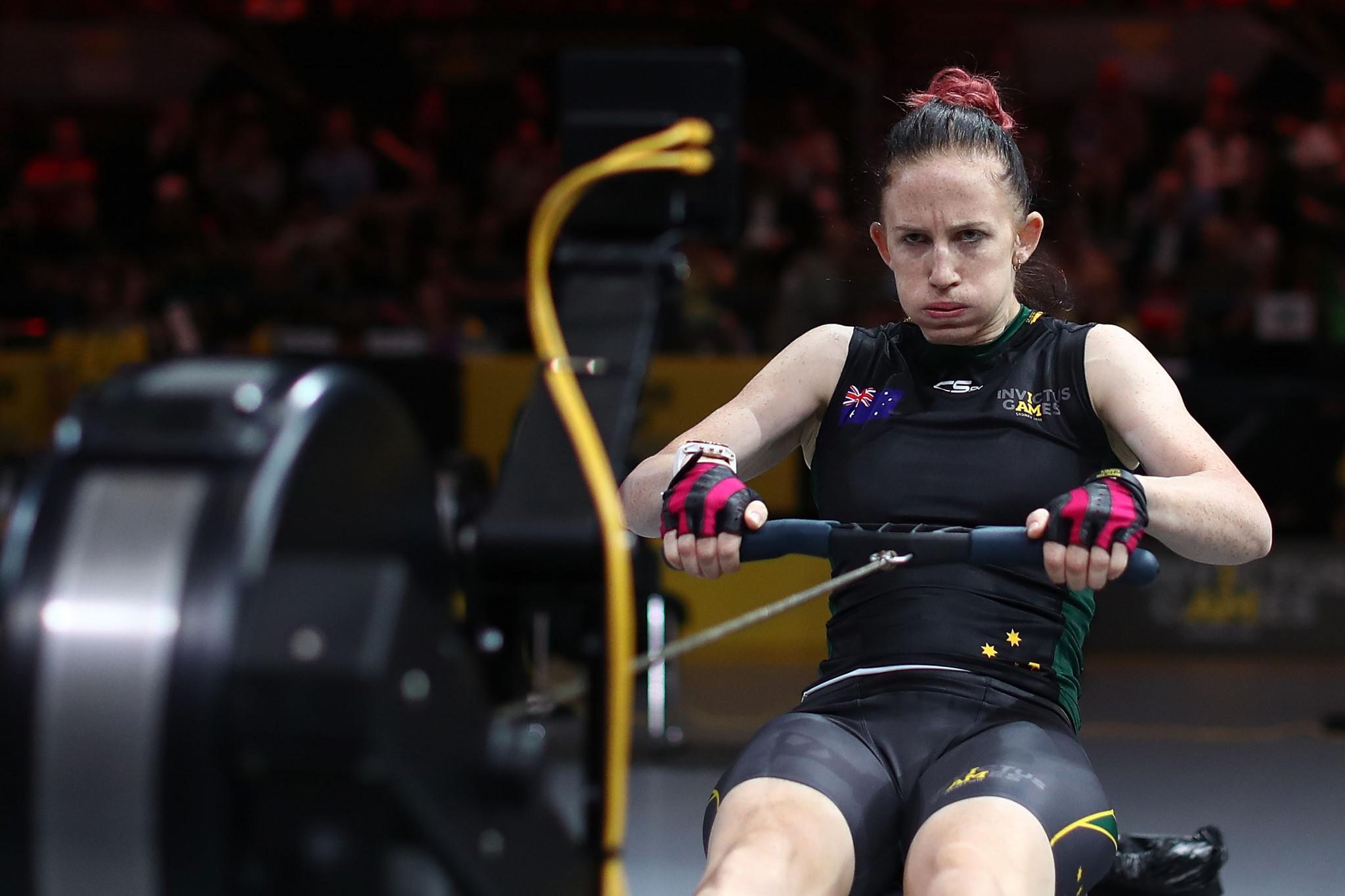 Australia excel at indoor rowing at 2018 Invictus Games