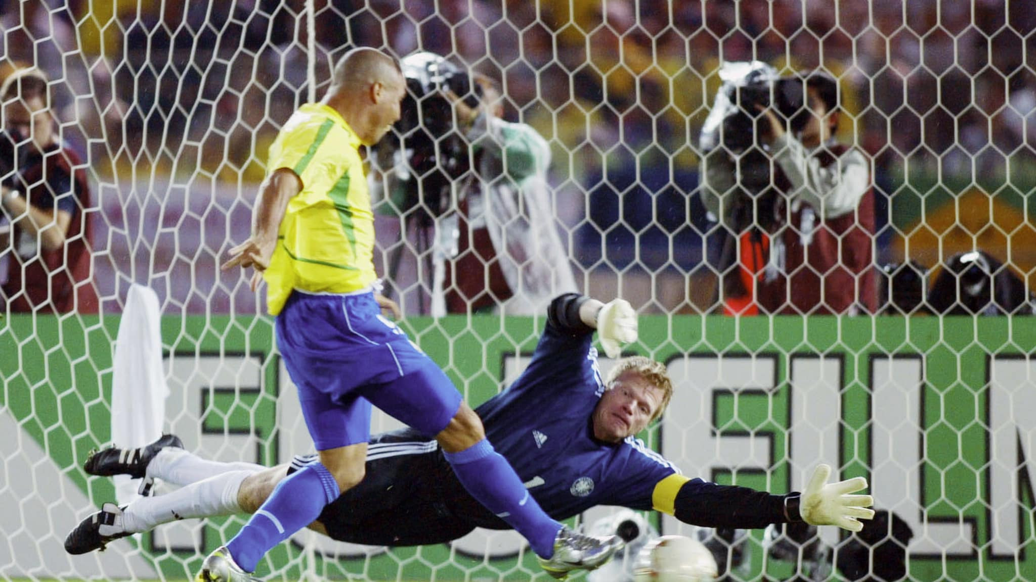 The decision that Host Broadcast Services should have a long-term future was taken the day before the 2002 FIFA World Cup final in Japan where Brazil beat Germany ©Getty Images