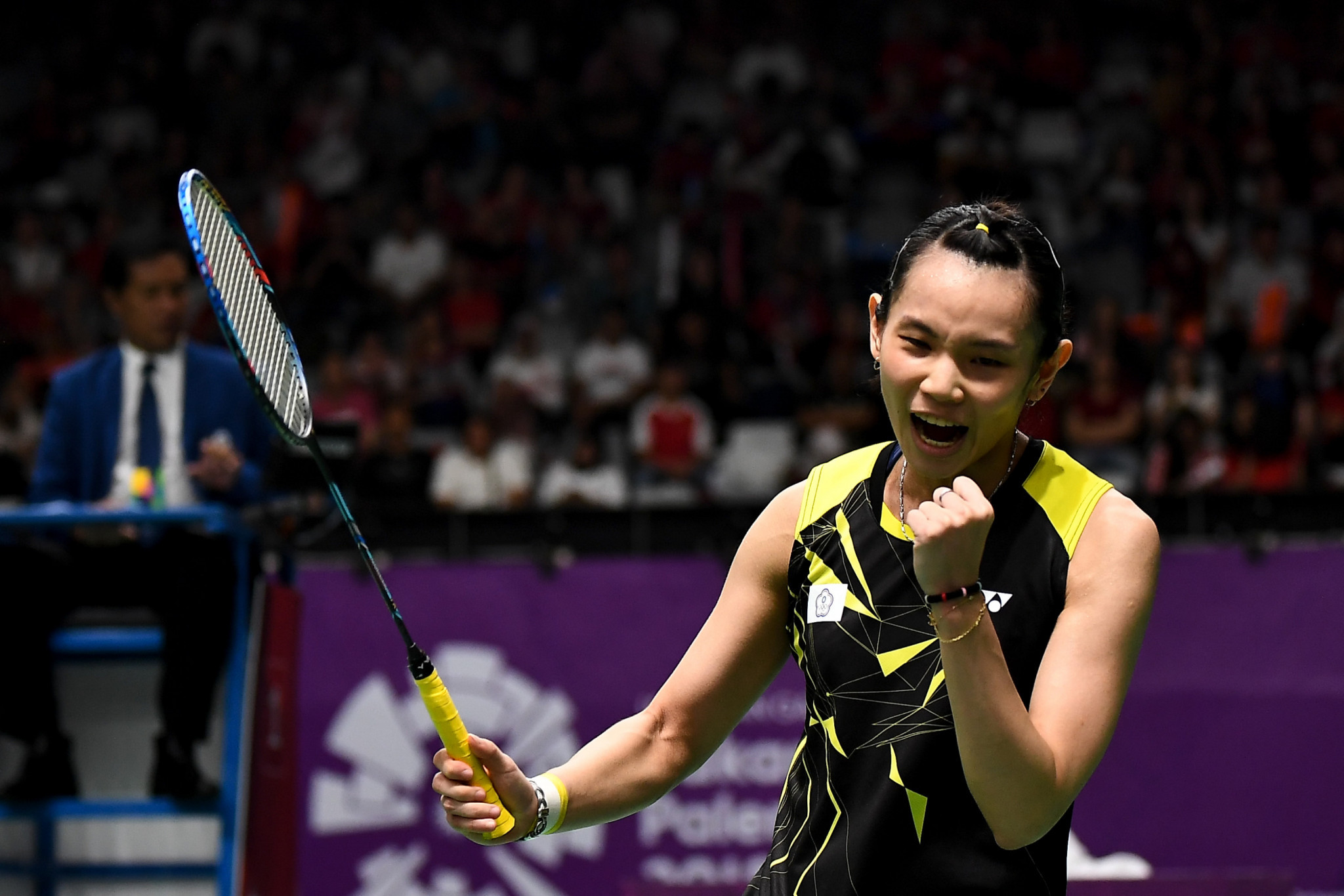 Chinese Taipei's Tai Tzu-ying will be looking to continue her successful 2018 season and maintain her world number one spot at the BWF French Open in Paris having won the Denmark Open in Odense ©Getty Images