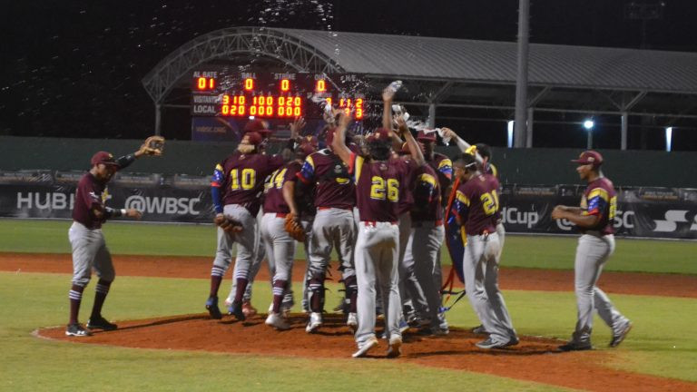 Venezuela maintain unblemished record to secure super round berth at WBSC Under-23 Baseball World Cup