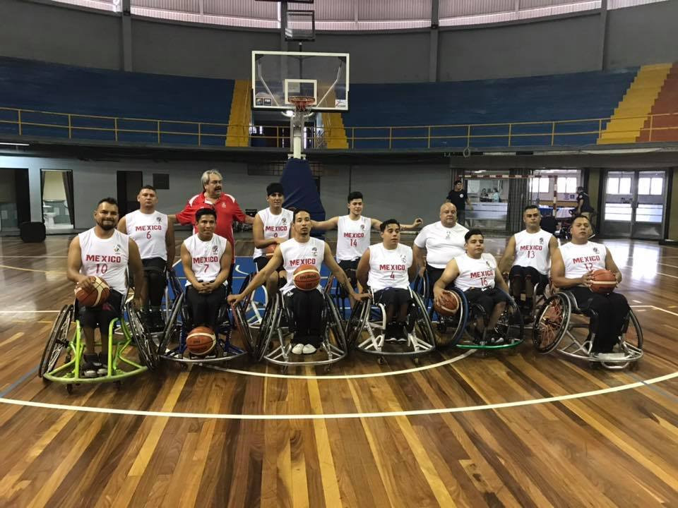 Defending champions Mexico beat Nicaragua in their opening game of the IWBF Central America and Caribbean Championship ©CentroBasket BSR Costa Rica 2018