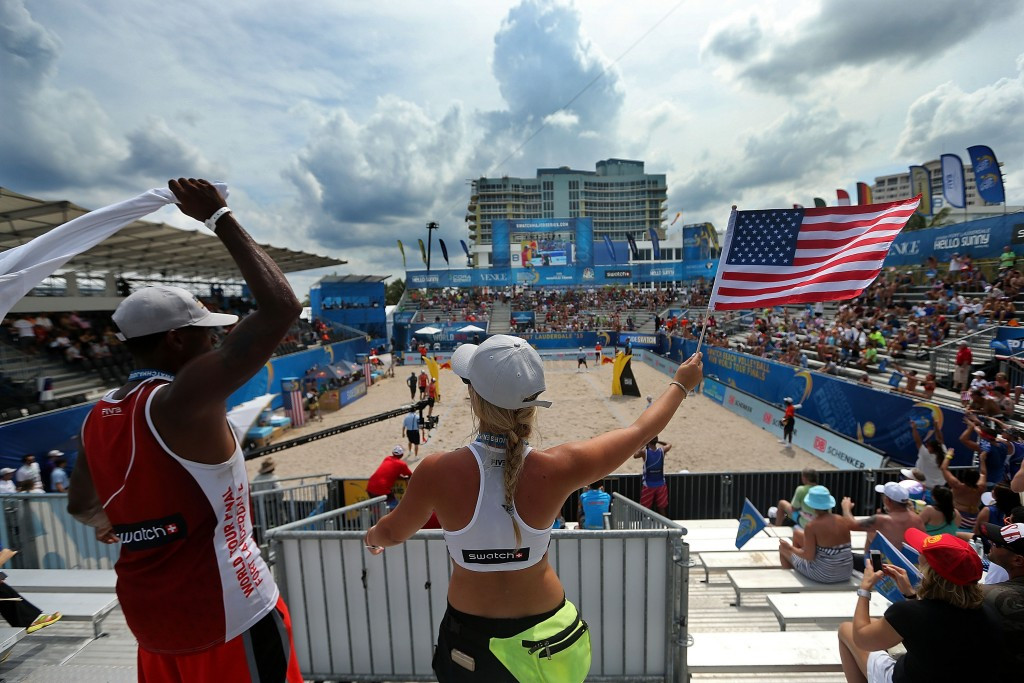 In pictures: Semi-finals day at FIVB World Tour Finals in Fort Lauderdale