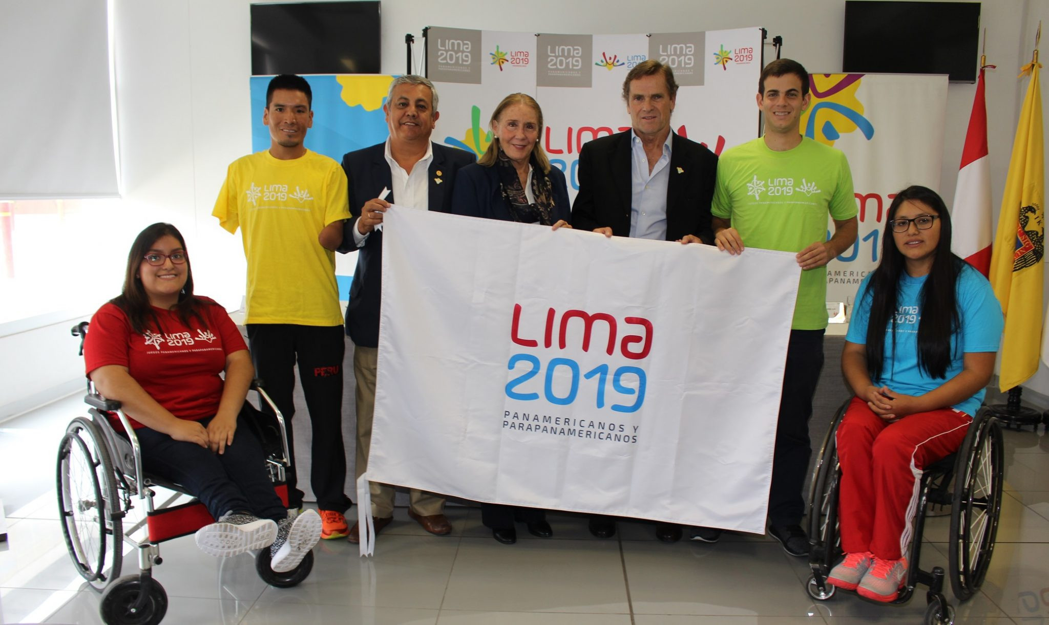 Lima 2019 Parapan American Games stages workshop demonstration of sports events for local leaders