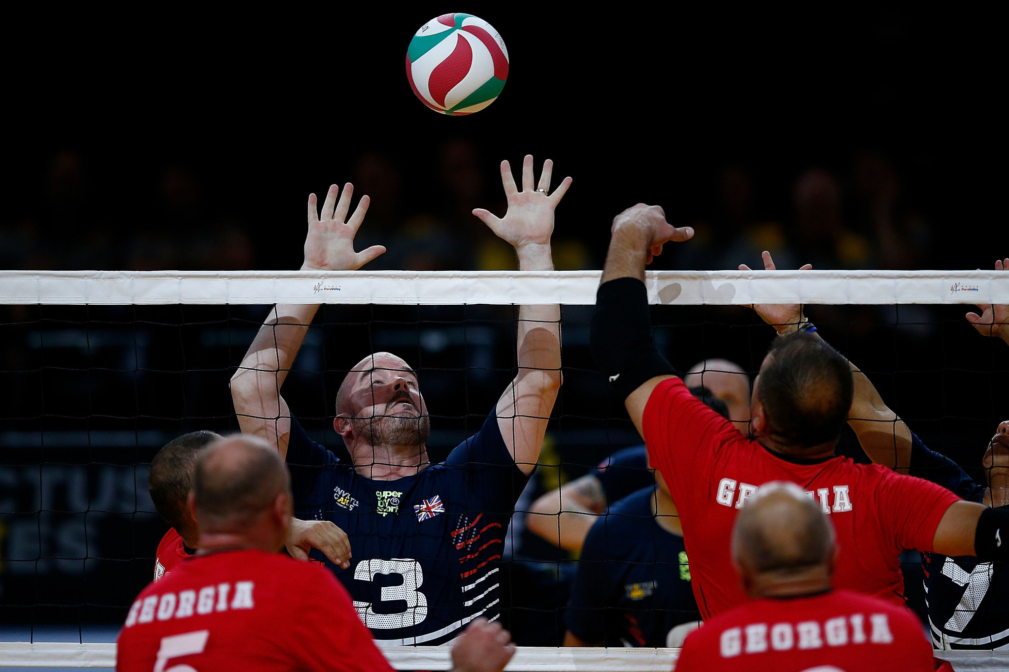 Georgia beat the United Kingdom 21-14, 21-12 in the final of the sitting volleyball event at the 2018 Sydney Invictus Games ©Getty Images