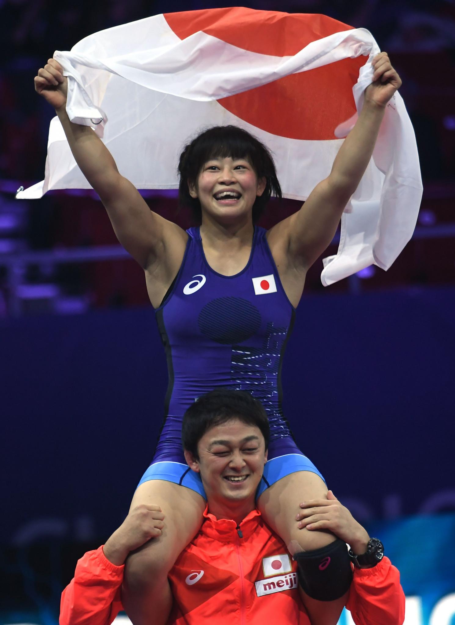 Japan won both women's golds tonight thanks to Mayu Mukaida, pictured, and Risako Kawai ©Getty Images