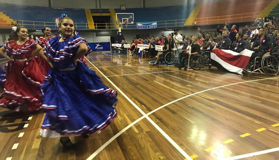 The Opening Ceremony of the IWBF Central America and Caribbean Championship was held today ©CentroBasket BSR Costa Rica 2018