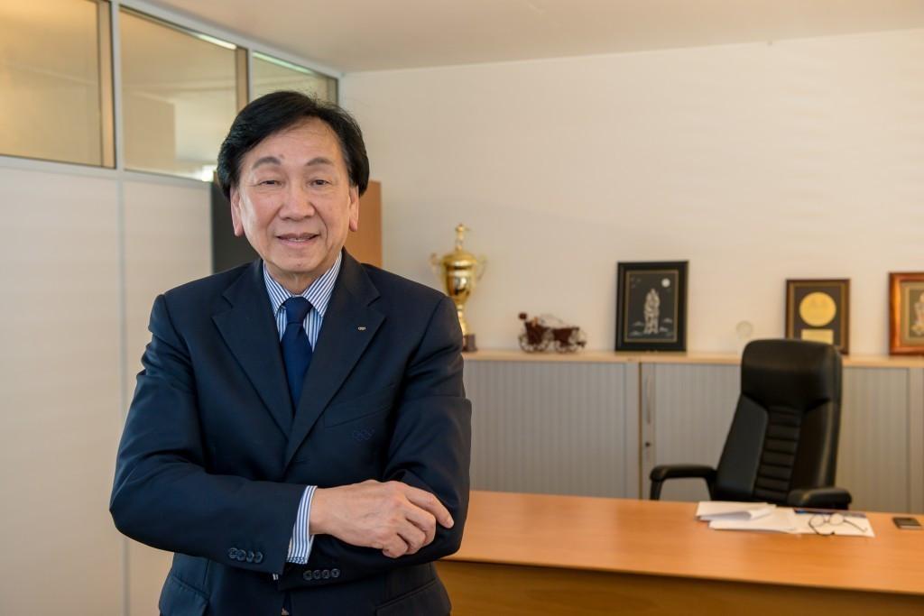 AIBA President C K Wu
