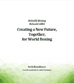 Konakbayev launches manifesto for AIBA Presidency as CAS reject Kazakhstan Boxing Federation bid to delay election
