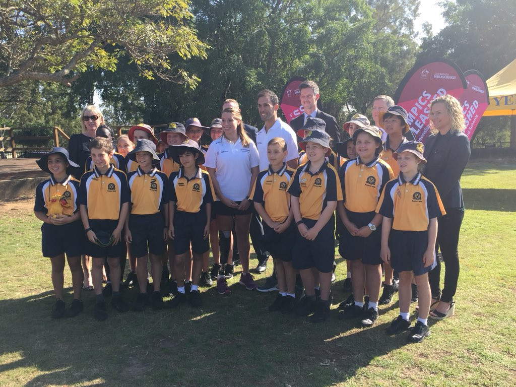 The Olympics Unleashed programme will see Australian athletes visit schools around the country to inspire the students ©Mark Bailey MP