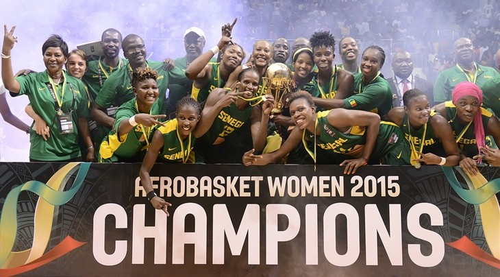 Senegal seal Rio 2016 spot by clinching 11th Women's AfroBasket title