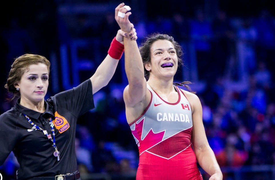 World Wrestling Championships day five