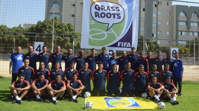 FIFA host first-ever grassroots football course in Gaza to provide training for coaches