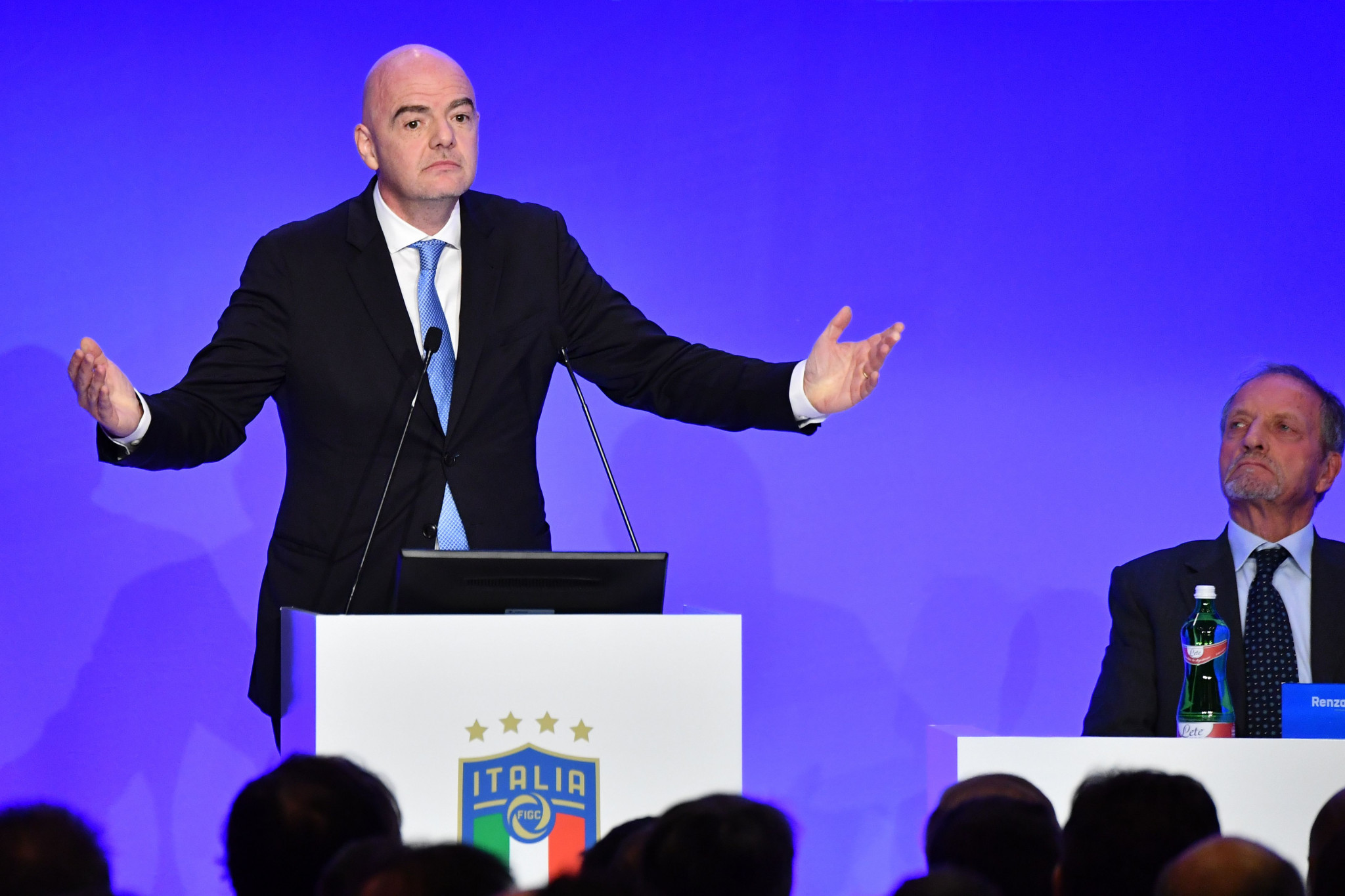 FIFA President Gianni Infantino has spearheaded the plans ©Getty Images