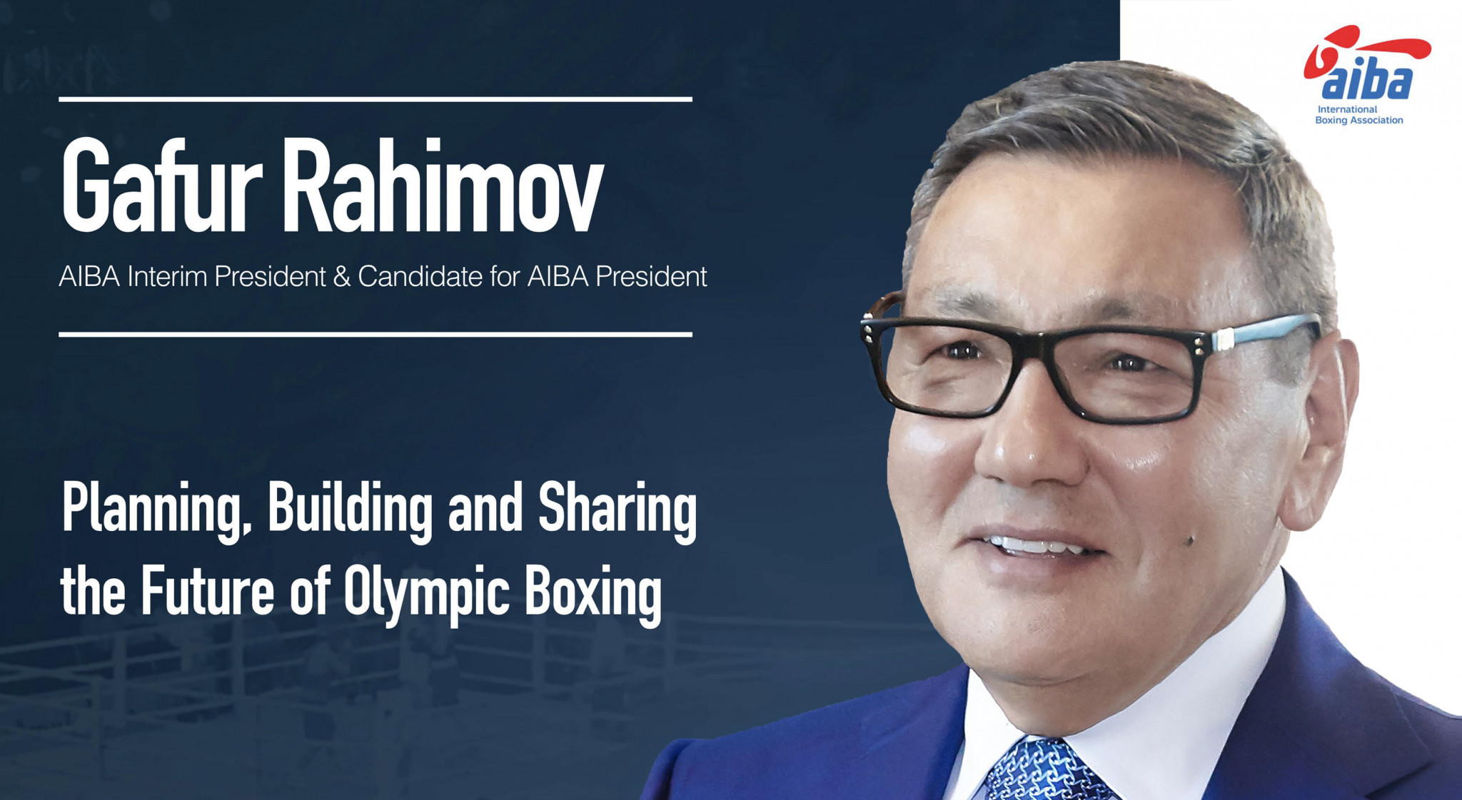 Gafur Rakhimov has published his manifesto for the AIBA Presidency ©Gafur Rakhimov