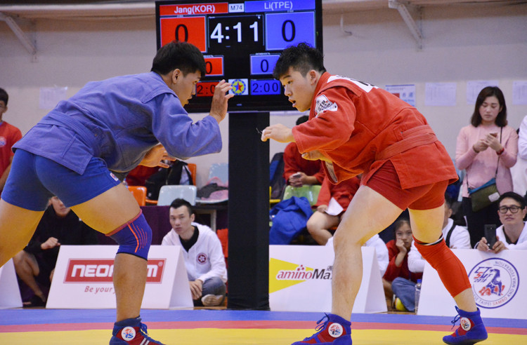 East Asia Sambo Championships hosted in Chinese Taipei