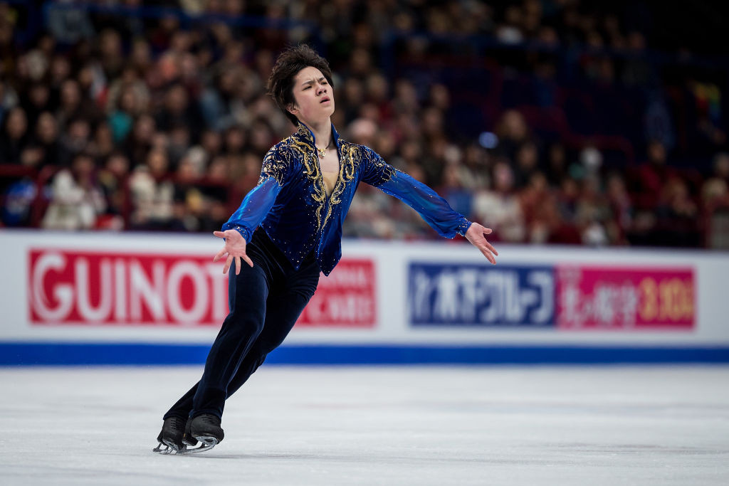 Japan's Shoma Uno is also making his first ISU Grand Prix of Figure Skating appearance this year ©ISU