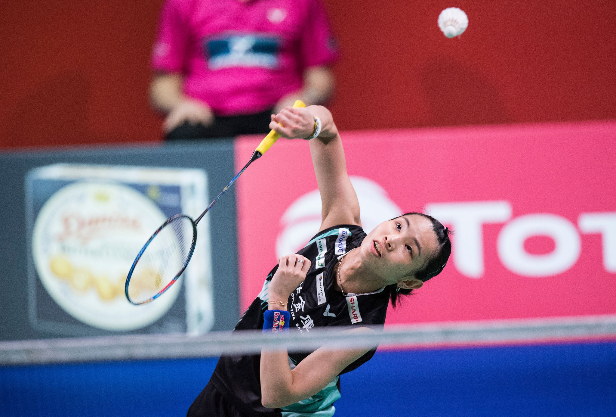 Top women's singles seed Tai Tzu Ying of Chinese Taipei booked her quarter-final place with ease ©Getty Images