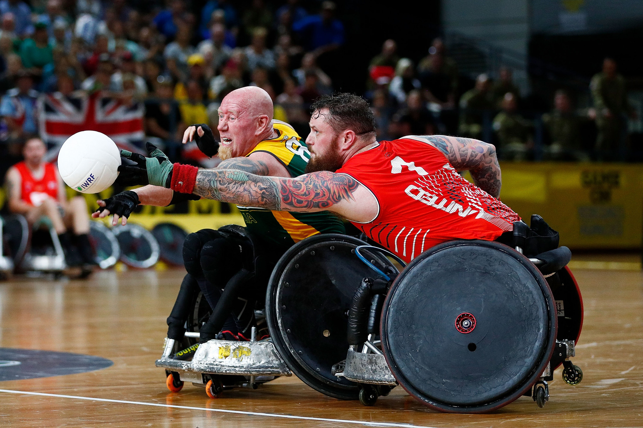 Australia clinch wheelchair rugby gold at Invictus Games in Sydney