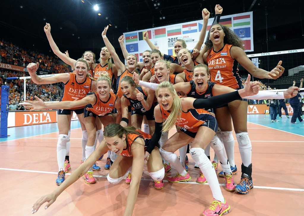 Dutch hosts seal spot in Women's European Volleyball Championship final with victory over Turkey