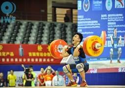 Chinese weightlifters dominate IWF Grand Prix in Fuzhou