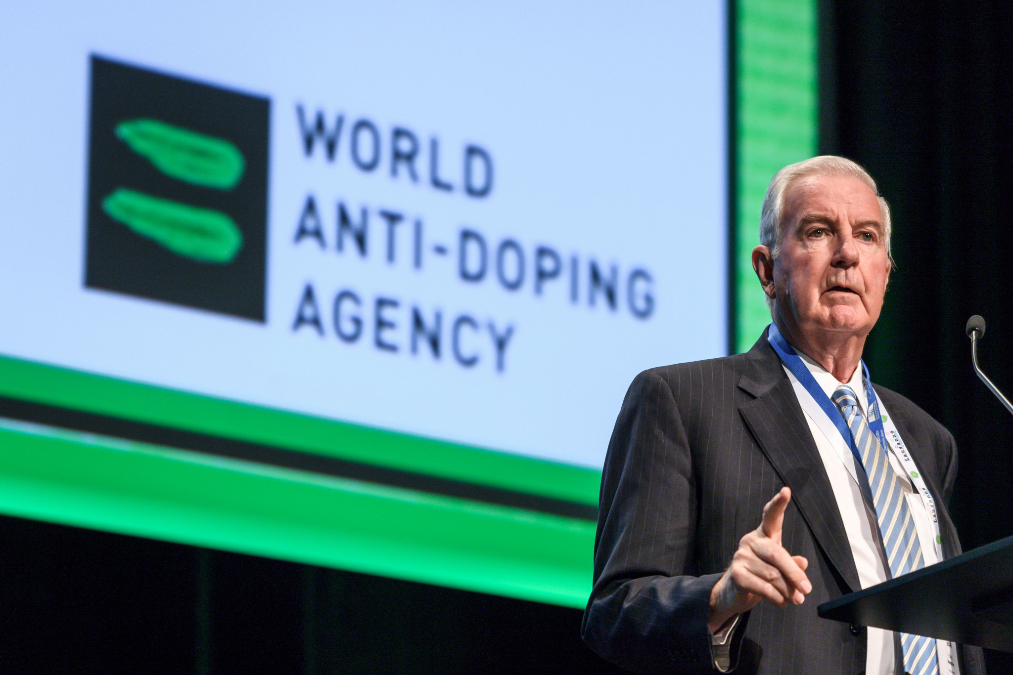 WADA President Sir Craig Reedie has endured much criticism following last month's decision to reinstate the Russan Anti-Doping Agency ©Getty Images