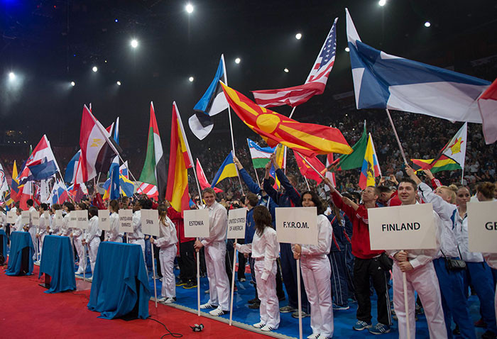 Athletes from 139 countries are set to compete at next month's Karate World Championships in Madrid ©WKF