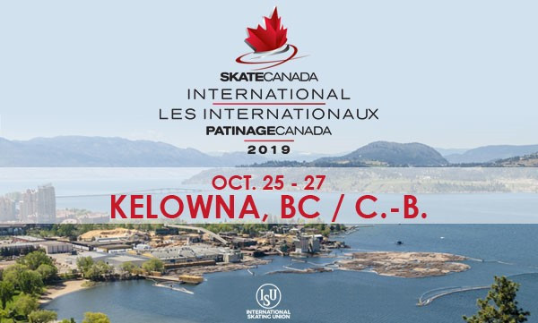Kelowna to host 2019 Skate Canada International