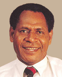 Sir Henry served for almost three decades as President of the Papua New Guinea Olympic Committee ©PNG Bank
