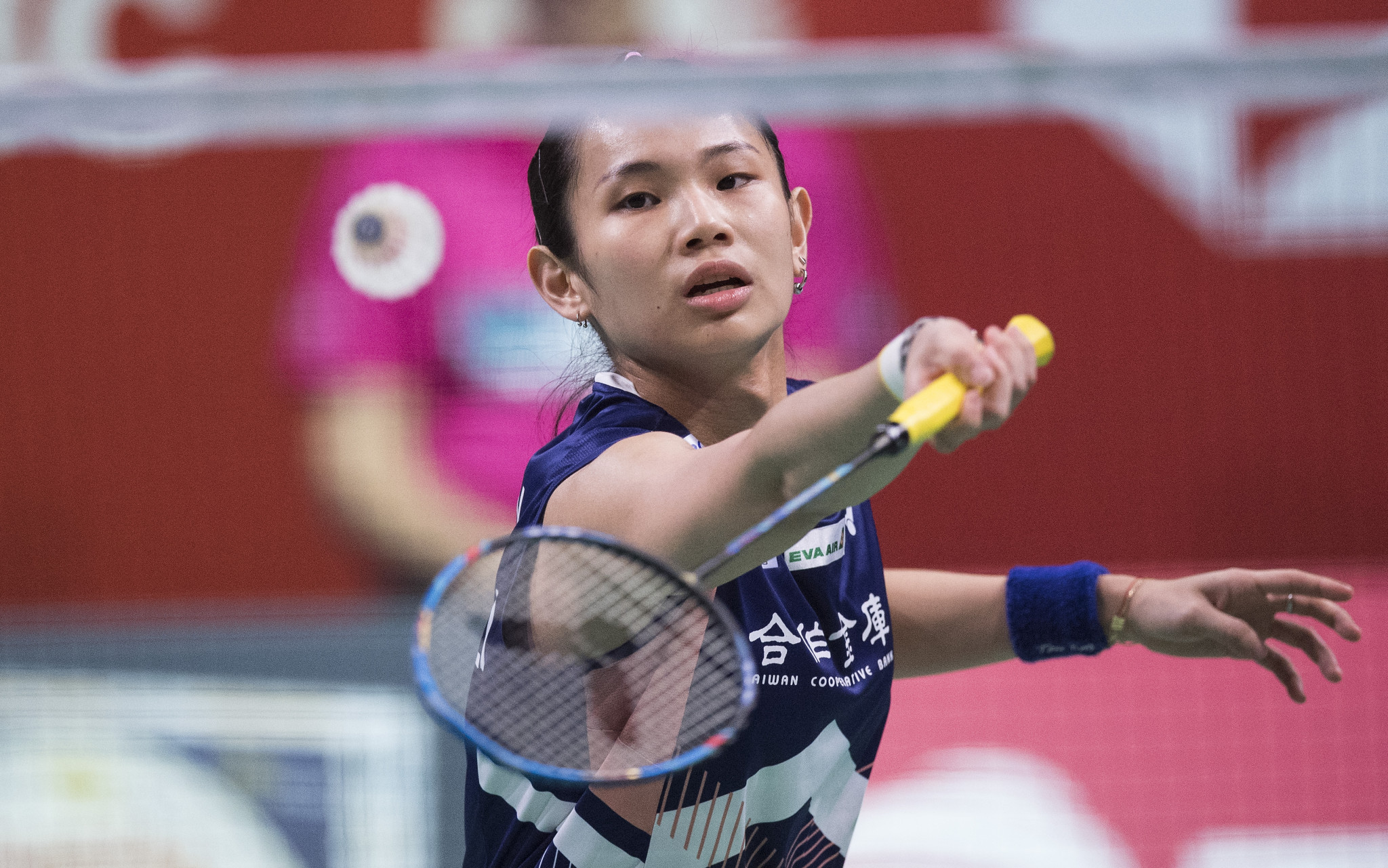 Tai Tzu Ying, the top seed in the women's event, beat India's Saina Nehwal today ©Getty Images