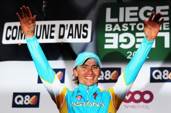 Maxim Iglinsky was one of a number of Astana Pro Team riders to test positive for banned substances last year