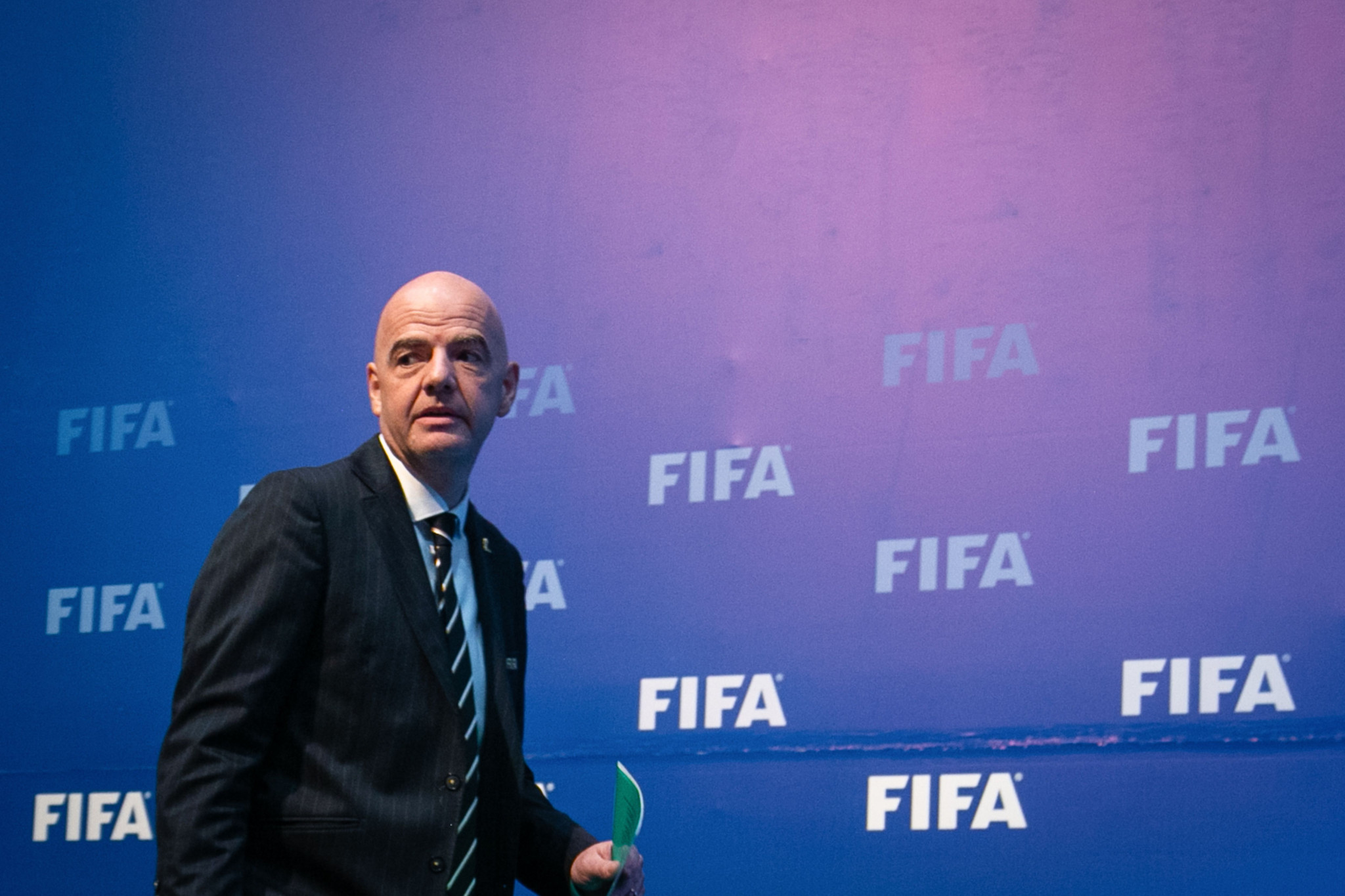 FIFA President Gianni Infantino said the changes sent an important message about their value of women's football ©Getty Images