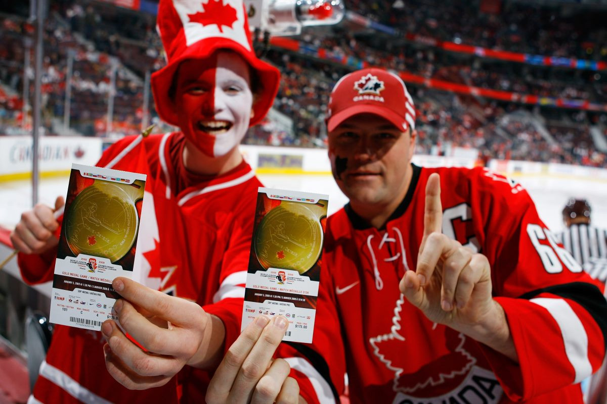 SIngle game tickets for the IIHF World Junior Championships in Vancouver have gone on sale ©IIHF