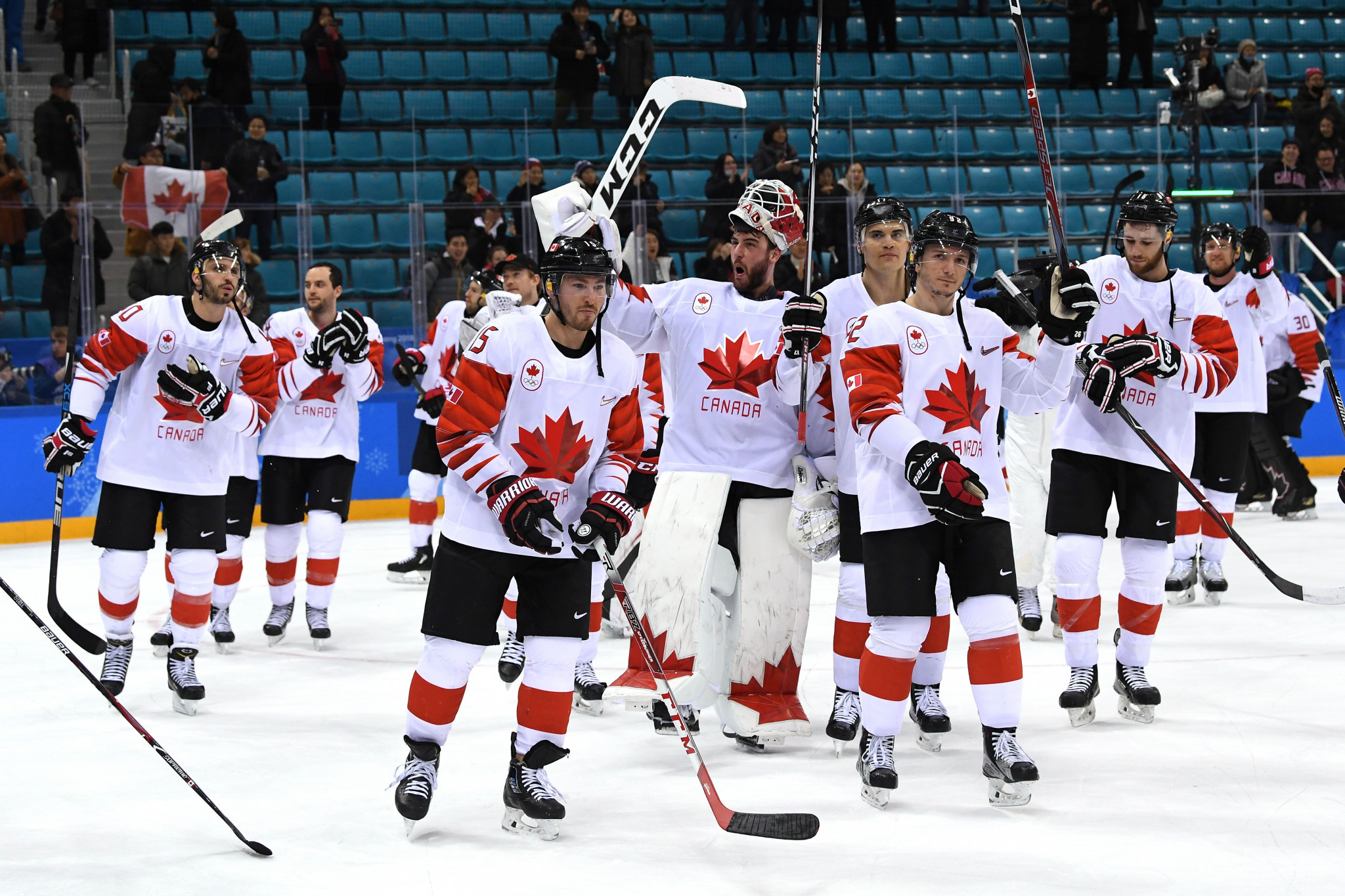 Canada will play Denmark in the opening game of the IIHF World Junior Championships, with single game tickets for the competition now available ©Getty Images