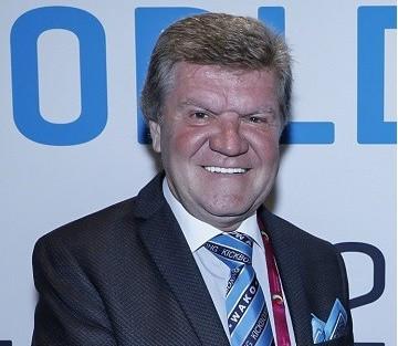 Borislav Pelevic has died at the age of 61 ©WAKO