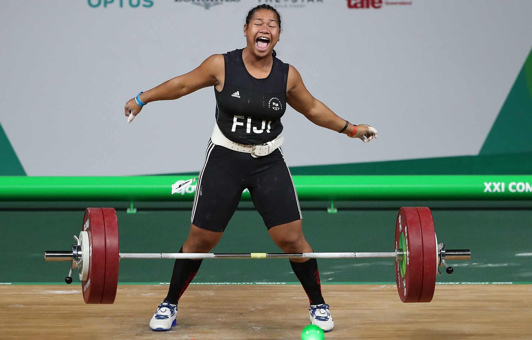 Eileen Cikamatana would have been a gold medal hope for Fiji ©Getty Images