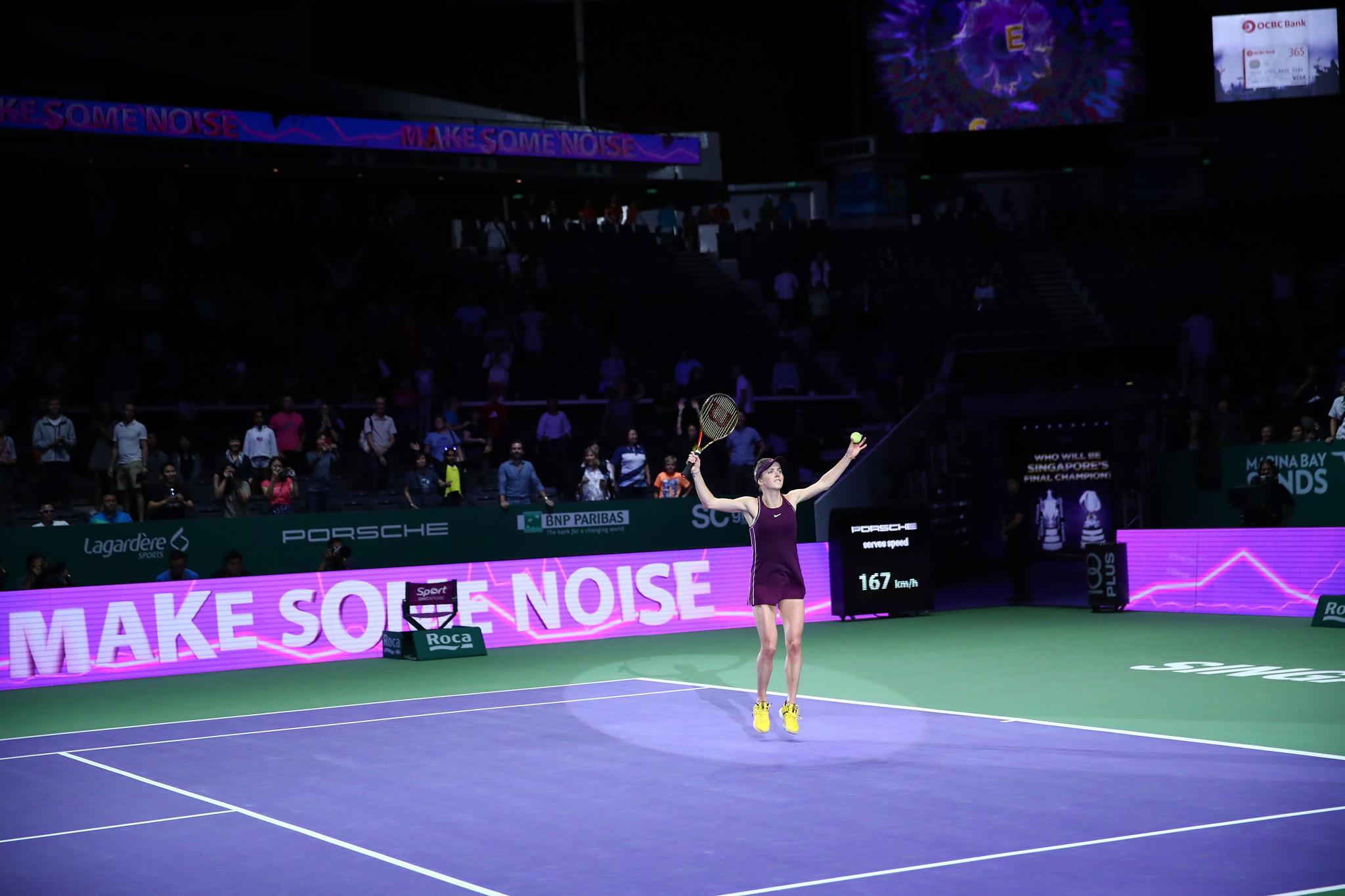 Elina Svitolina beat Kiki Bertens to progress to the final ©Getty Images