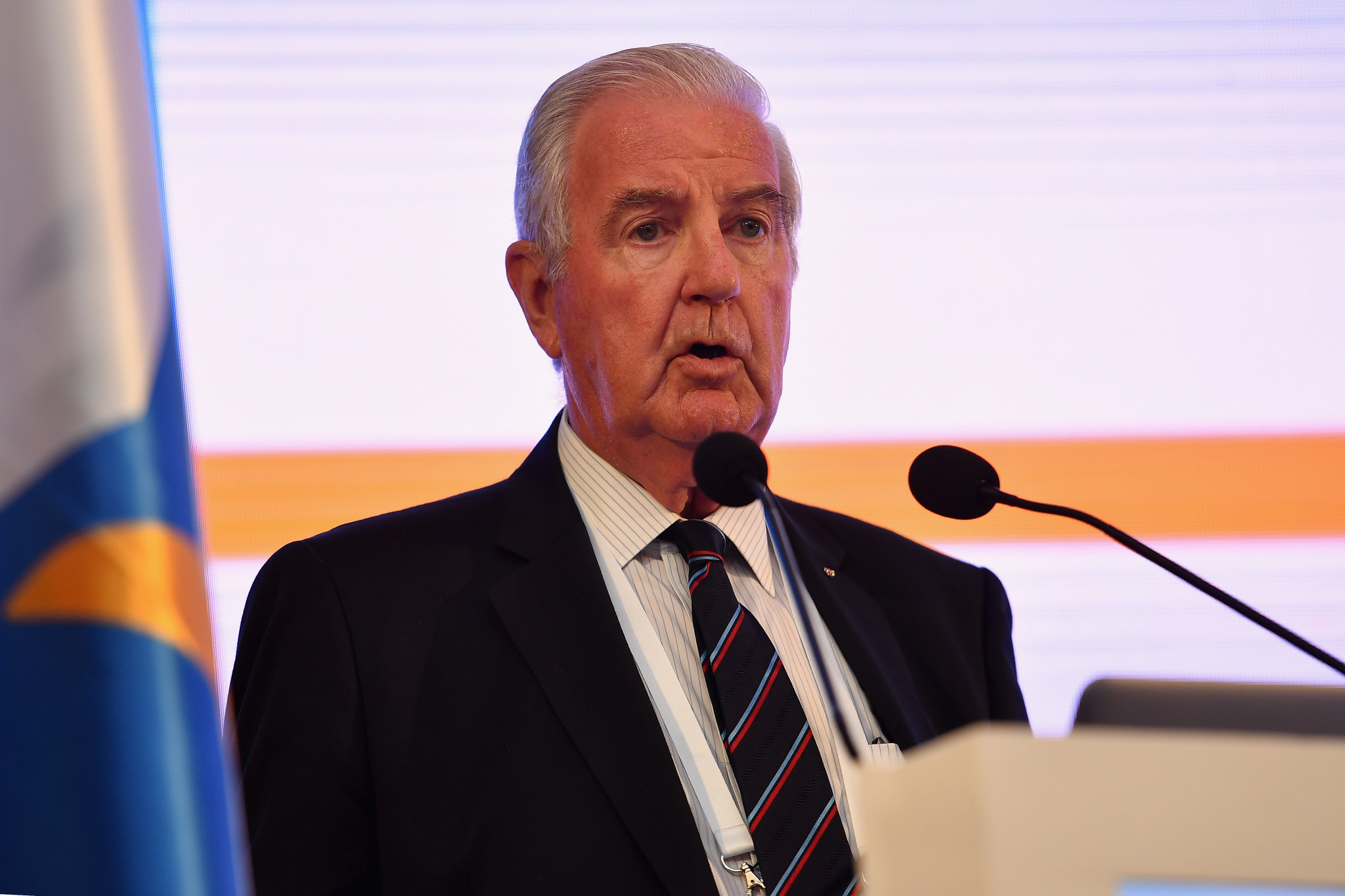 WADA President Sir Craig Reedie has rejected a call to resign ©Getty Images