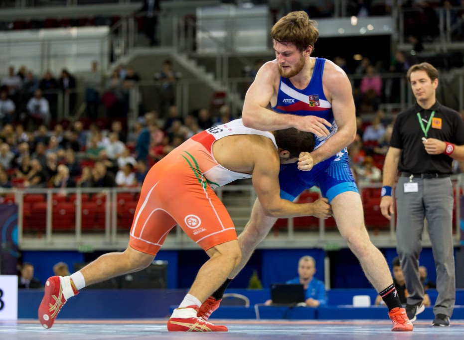 World Wrestling Championships day eight: Penultimate day of action