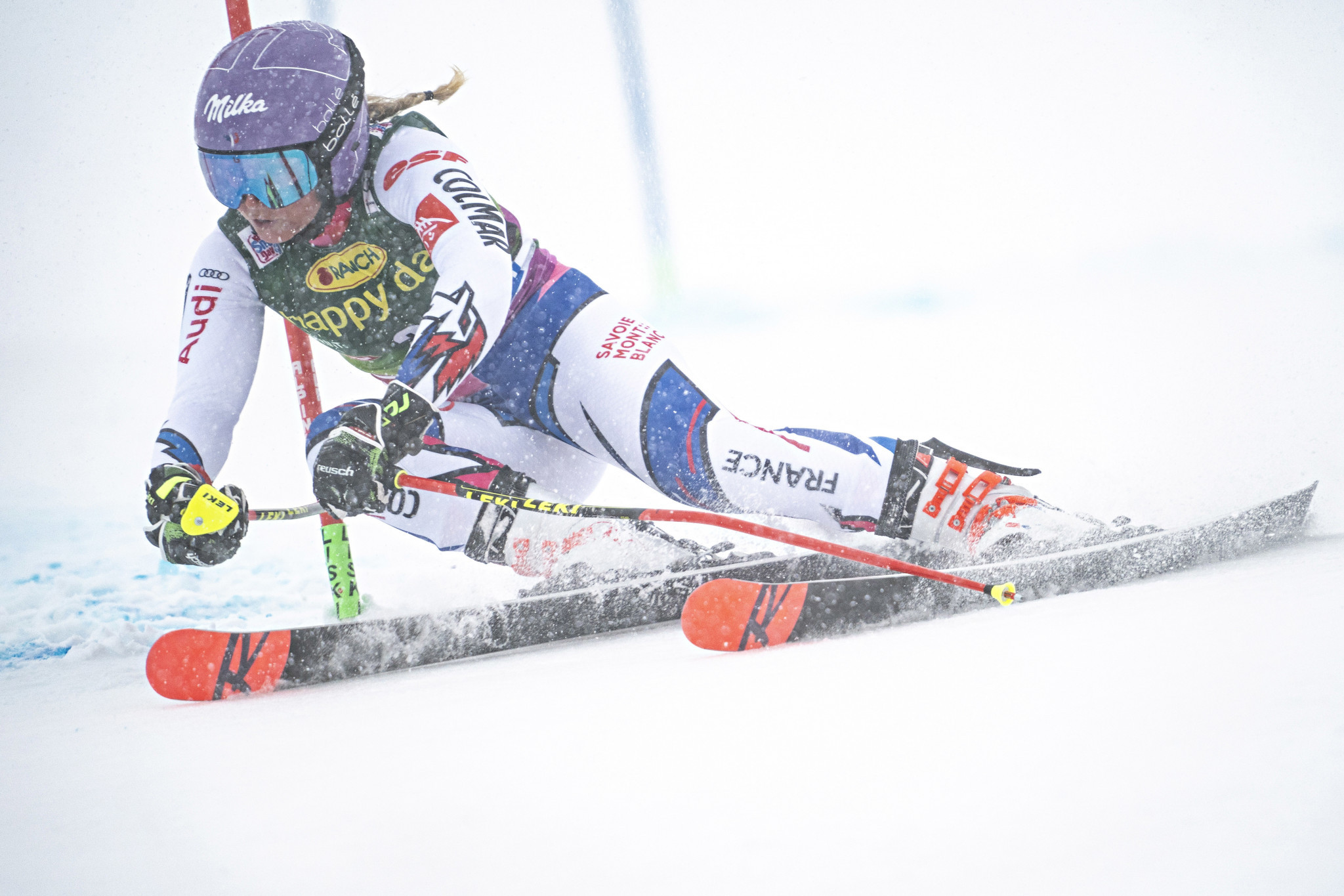 Worley secures giant slalom victory on opening day of Alpine Skiing World Cup season
