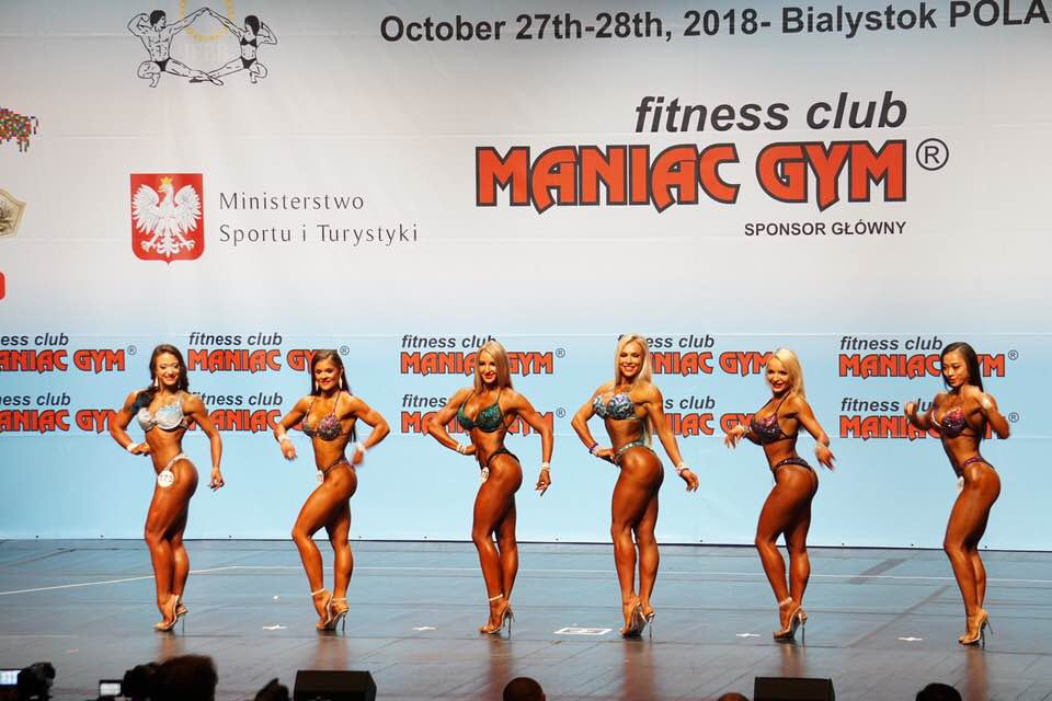 Day one of the 2018 IFBB World Fitness Championships