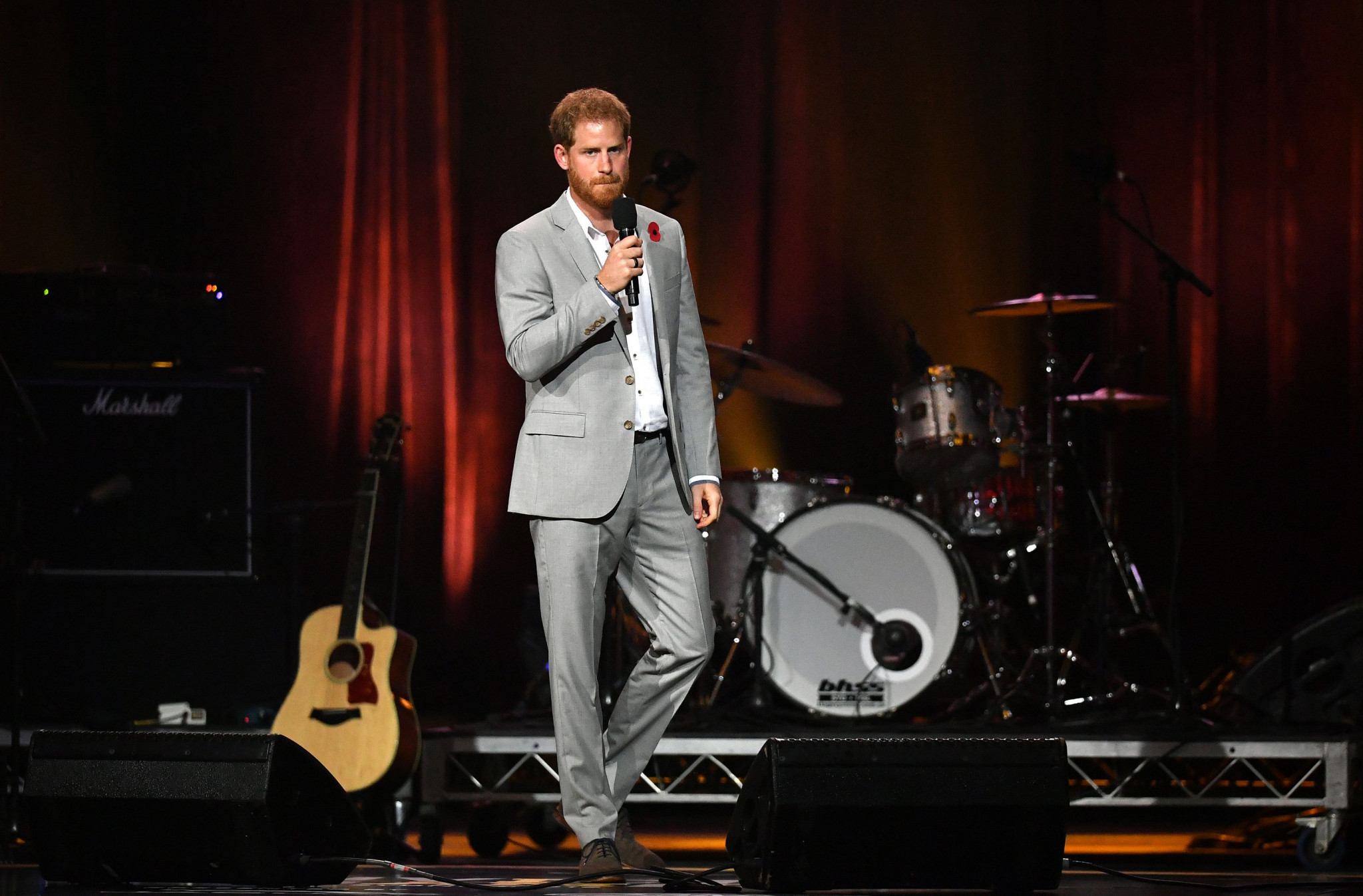 Prince Harry, the founder of the Invictus Games, gave a speech at the event's Closing Ceremony ©Getty Images