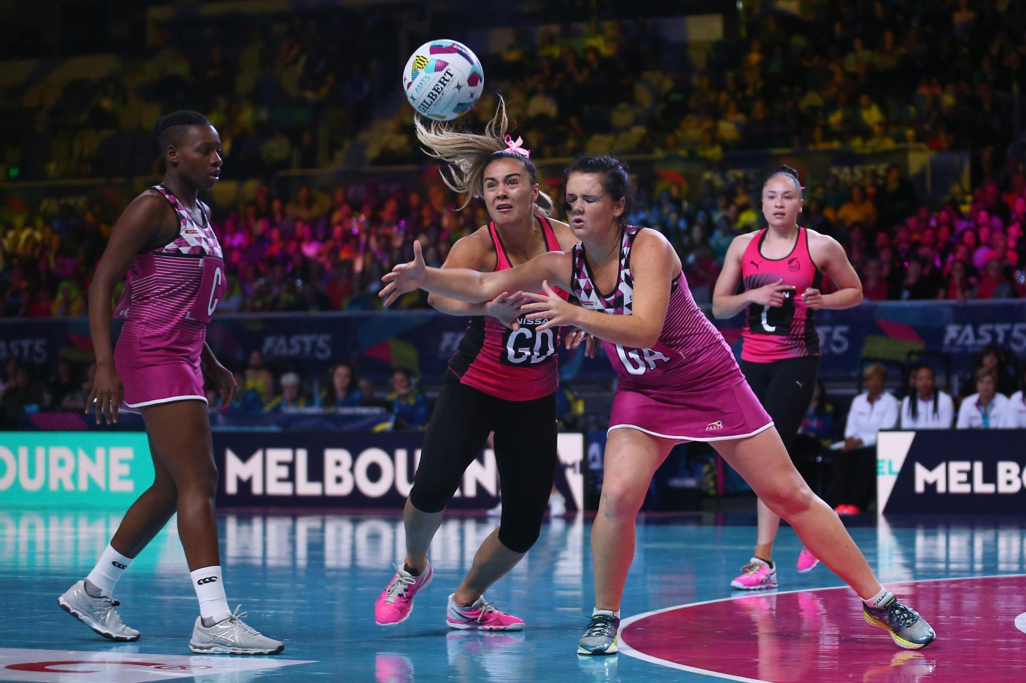 New Zealand unbeaten on first day of Fast5 Netball World Series