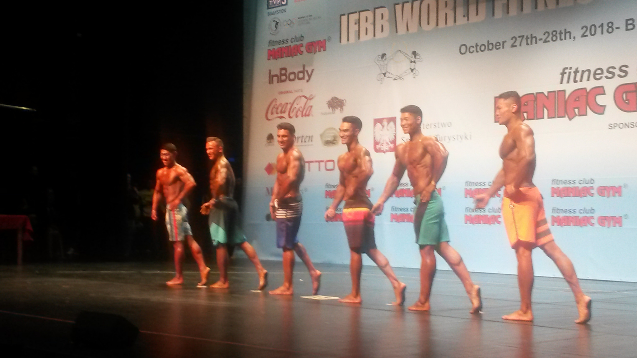 China finish first day of IFBB World Fitness Championships in Poland with golden flourish