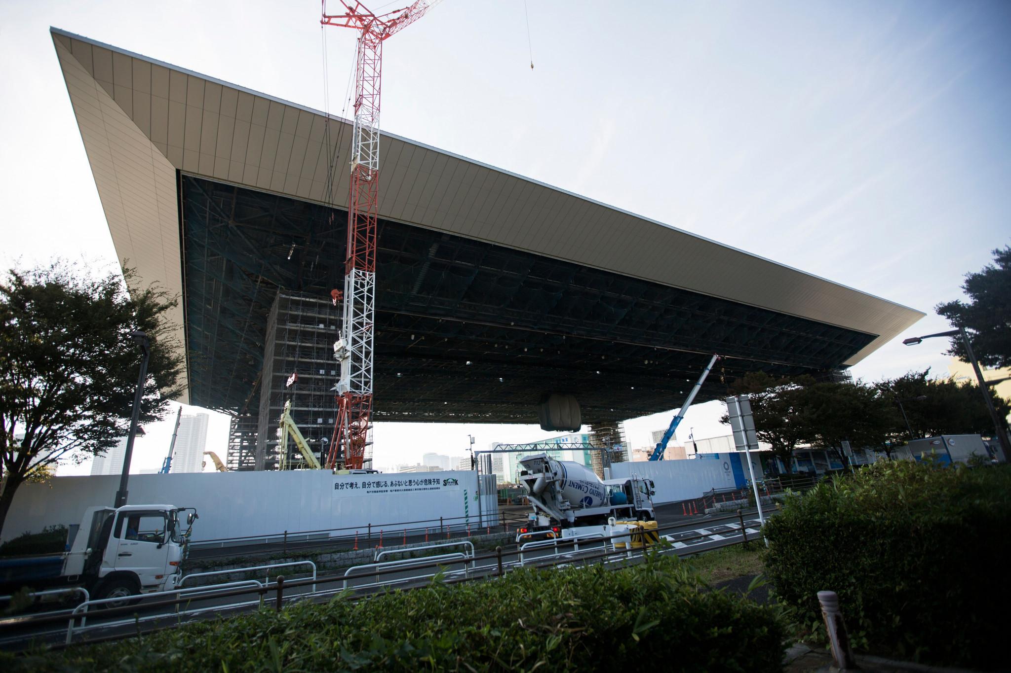 Tokyo 2020 aquatics and tennis venues hit difficulties, report claims