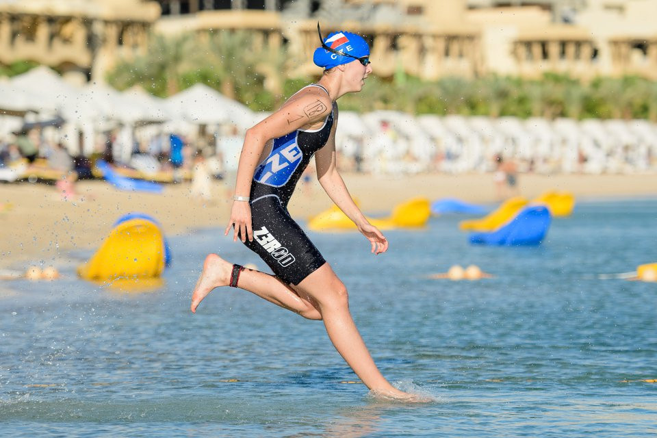 Tamasauskaite and Tovkai win triathle titles at UIPM Biathle-Triathle World Championships