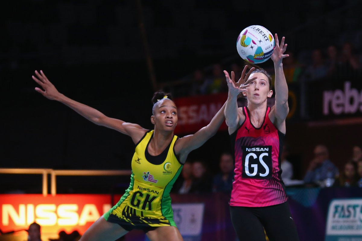 New Zealand beat Jamaica 34-33 to win the final of the 2018 Fast5 Netball World Series ©Fast5 World Series